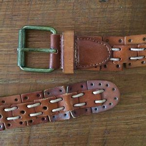 Vintage Leather Belt